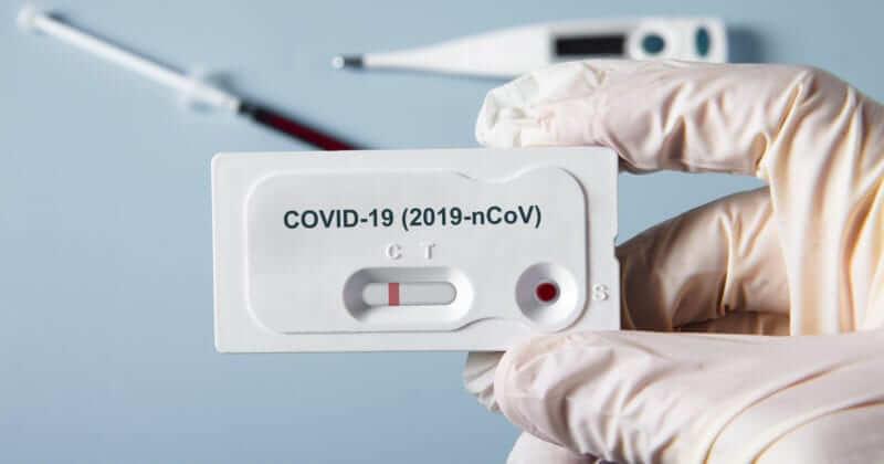 COVID-19 test rápido